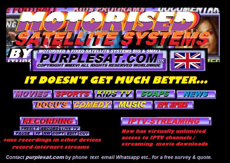 PURPLESAT MOTORISED SATELLITE SYSTEMS