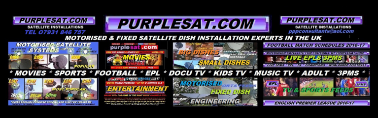 PURPLESAT,COM MOTORIZED SATELLITE SYSTEMS LARGE & SMALL