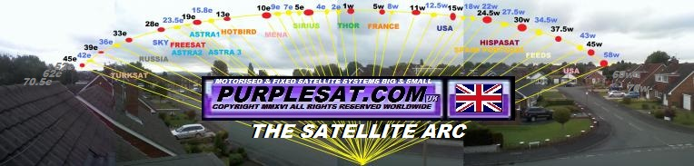 purplesat satellite tv arc