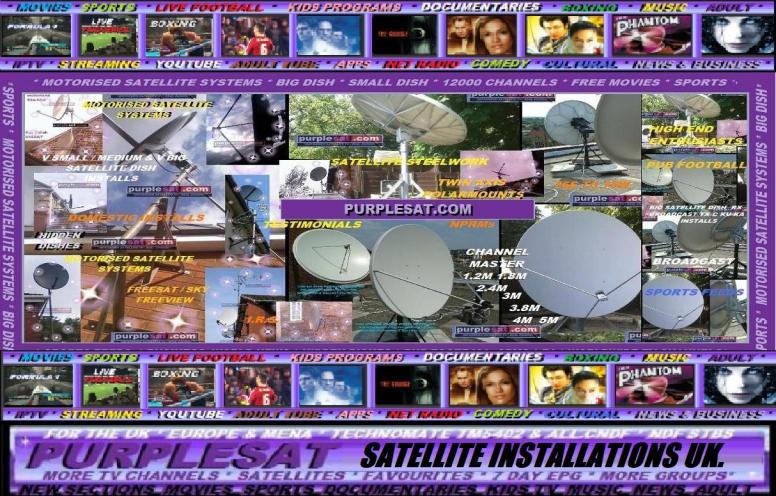 satellite installations