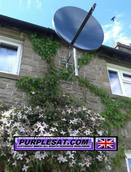 RURAL MOTORISED SATELLITE DISH