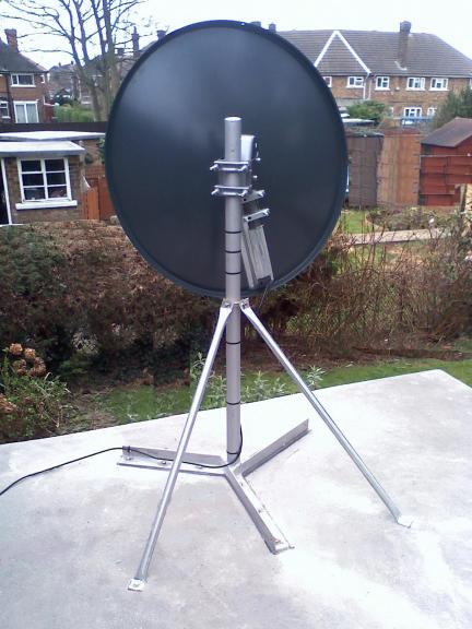 100mph Satellite Brackets 187 Expert Motorised Satellite